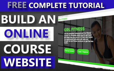 Do It Yourself – Tutorials – Build an online course website with WordPress FREE  – Sell online courses from your own website