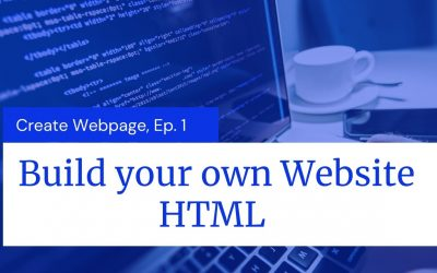 Do It Yourself – Tutorials – Build your own Website | Episode-1 | HTML | The Programmers Talk