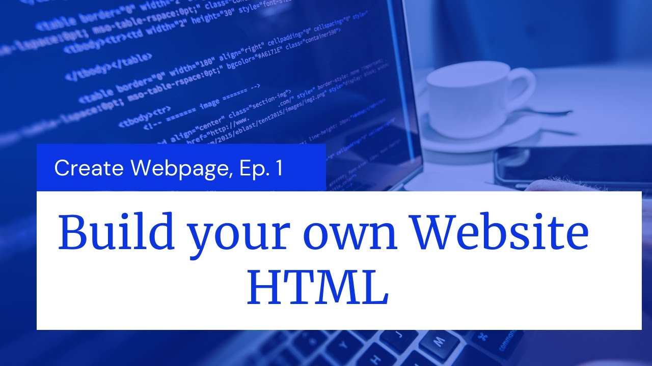 Build your own Website | Episode-1 | HTML | The Programmers Talk