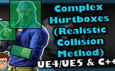 Do It Yourself – Tutorials – Complex (Realistic) Hurtboxes | How To Make YOUR OWN Fighting Game | UE4/UE5 & C++ Tutorial, Part 78
