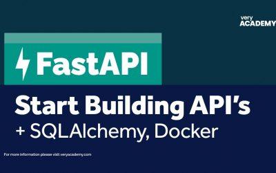 Do It Yourself – Tutorials – FastAPI – Build your first API with Python's Fastest API Web Framework!