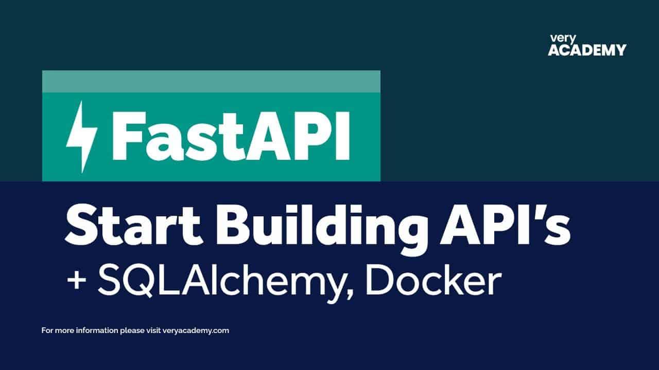 FastAPI - Build your first API with Python's Fastest API Web Framework!