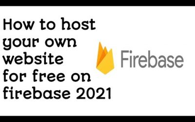 Do It Yourself – Tutorials – How to host your own website on firebase using mobile phone tutorial