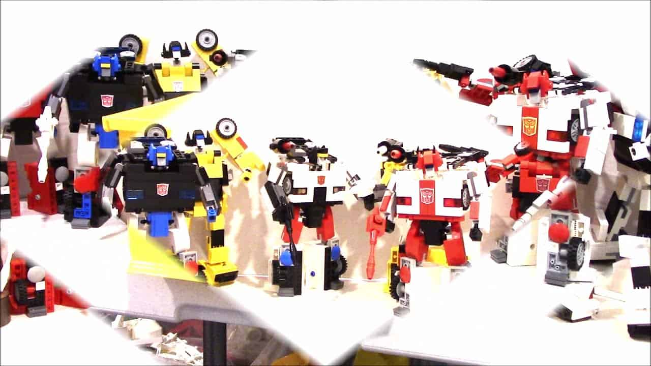 LEGO LAMBORGHINI TRANSFORMERS WARS BY BWTMT BRICKWORKS BRICK BUILT BOTS