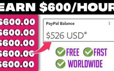 Do It Yourself – Tutorials – Make $600 Per HOUR USING This NEW WEBSITE (Make Money Online)