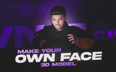 Do It Yourself – Tutorials – Make Your Own Face 3D Model| Blender Tutorial| Amdroid