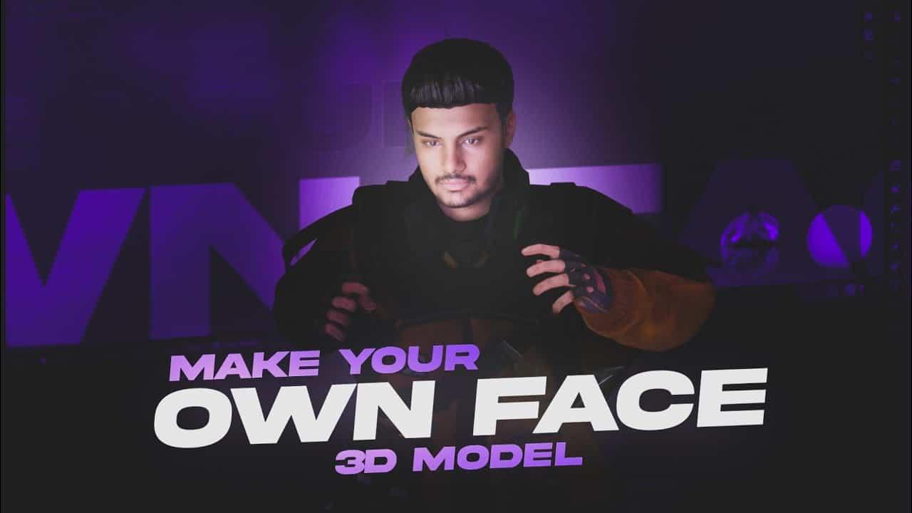 Make Your Own Face 3D Model| Blender Tutorial| Amdroid