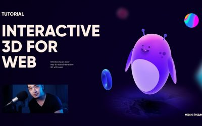 Do It Yourself – Tutorials – Making a 3D interactive character for web with Spline – Tutorial