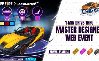 Do It Yourself – Tutorials – McLaren Master Designer Web Event Tutorial | Free Fire Pakistan Official