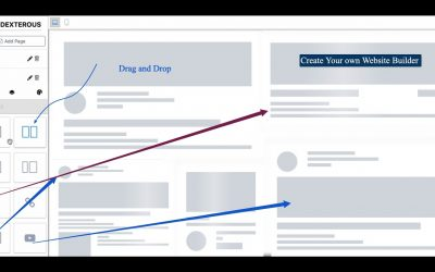 Do It Yourself – Tutorials – Part 4 – Create our own Website Builder. Web page Builder.