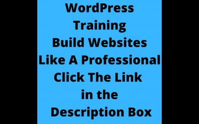 Do It Yourself – Tutorials – WordPress Training Build Websites Like A Professional | How to Build a Website Tutorial | 20 Videos