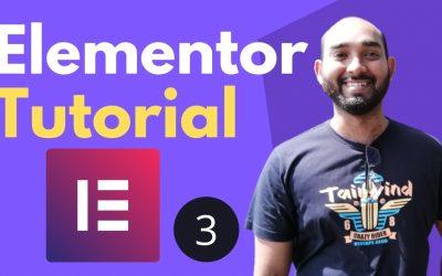 WordPress For Beginners – Elementor Tutorial for Beginners   Build Webpage – Part 3   WordPress Course #17