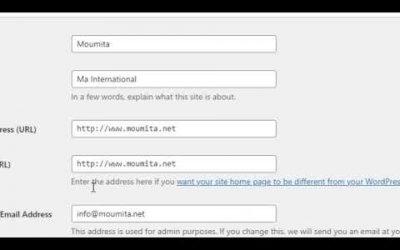 WordPress For Beginners – Error Common Name Invalid Solution For WordPress- Bangla Tutorial