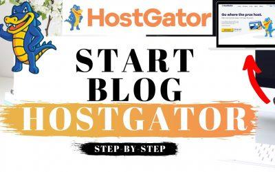 WordPress For Beginners – How To Start A Blog With Hostgator 2021   WordPress Blog Tutorial