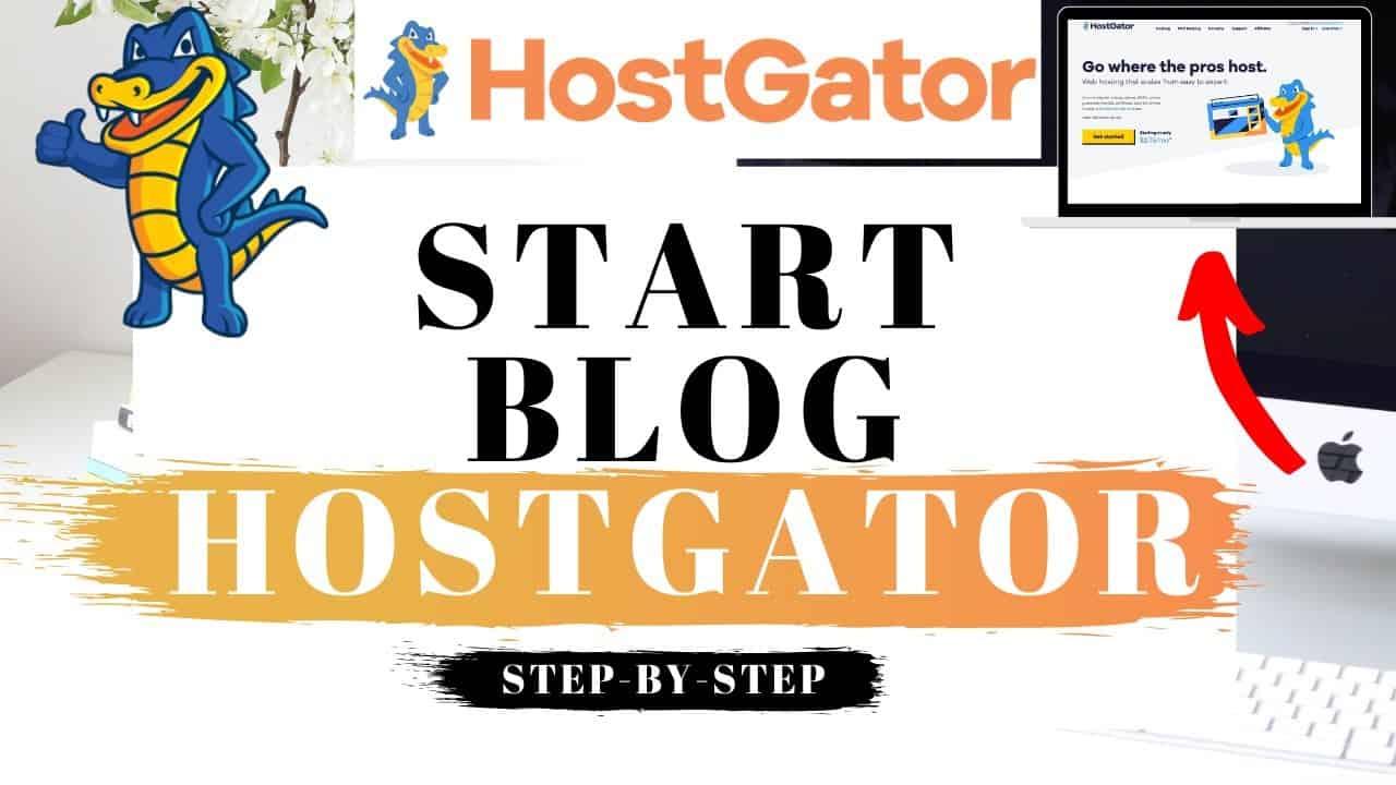 How To Start A Blog With Hostgator 2021 | WordPress Blog Tutorial