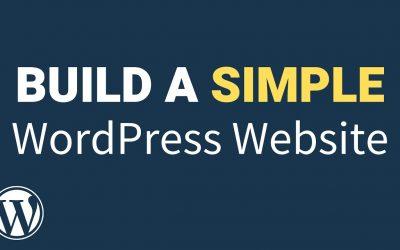WordPress For Beginners – How to Build a Simple Website with WordPress (2021) – WordPress Tutorial