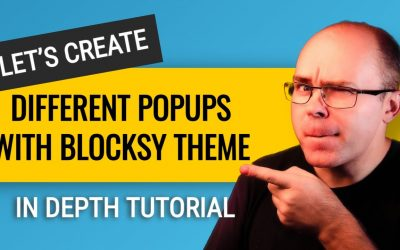 WordPress For Beginners – How to Create Popups in WordPress with Blocksy Theme? (In-depth Tutorial)