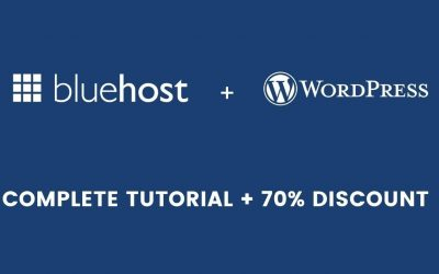 WordPress For Beginners – How to create a WordPress website on Bluehost (Complete Tutorial)