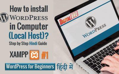 WordPress For Beginners – Install WordPress on Localhost – Step by Step Guide 2021   WordPress Tutorial for Beginners
