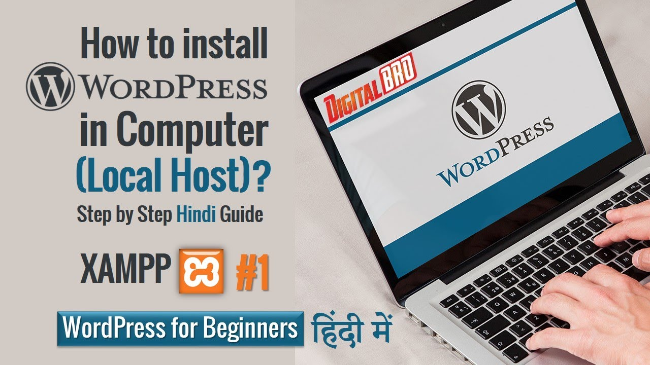 Install WordPress on Localhost - Step by Step Guide 2021   WordPress Tutorial for Beginners