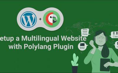 WordPress For Beginners – Setup a Multilingual WordPress site with Polylang Plugin tutorial 2021