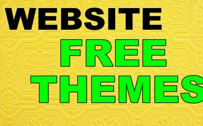 WordPress For Beginners – WEBSITES WITH FREE THEMES