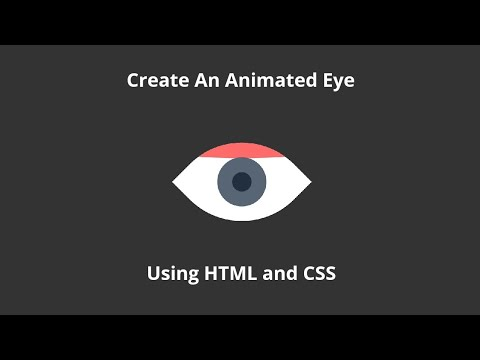 CSS Animated Eye On Hover   CSS HTML Hover Effects