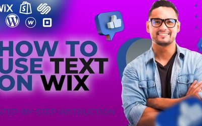 Do It Yourself – Tutorials – HOW TO MAKE A WEBSITE? / How To Use Text on WIX.COM / Step By Step TUTORIAL FOR BEGINNERS
