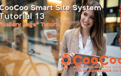 Do It Yourself – Tutorials – CooCoo Smart Site – Tutorial 13 – (Gallery Page) – Build your Joomla website in under 60 minutes!