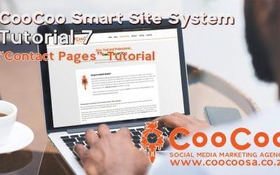 Do It Yourself – Tutorials – CooCoo Smart Site – Tutorial 7 – (Contact Pages) – Build your Joomla website in under 60 minutes!