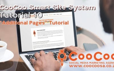 Do It Yourself – Tutorials – CooCoo Smart Site – Tutorial 10 – (Additional Pages) – Build your Joomla website in under 60 minutes