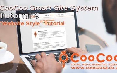 Do It Yourself – Tutorials – CooCoo Smart Site – Tutorial 9 – (Website Style) – Build your Joomla website in under 60 minutes!