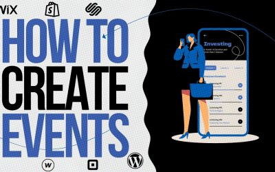 Do It Yourself – Tutorials – HOW TO CREATE A WEBSITE For Beginners? / Manage Events on WIX.COM Tutorial