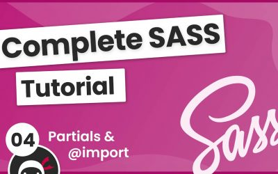 Do It Yourself – Tutorials – SASS Tutorial (build your own CSS library) #4 – Partials & @import