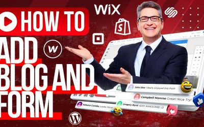 Do It Yourself – Tutorials – HOW TO BUILD A WEBSITE For Beginners? / Add Blog and Subscribe Form  Tutorial At WIX.COM
