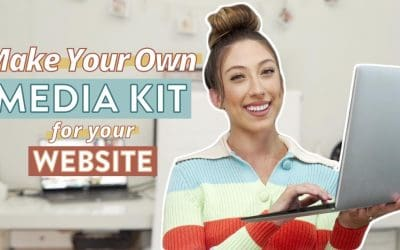 Do It Yourself – Tutorials – How To Create A Media Kit On Your Website For Brands | Step by step walkthrough tutorial using Zyro