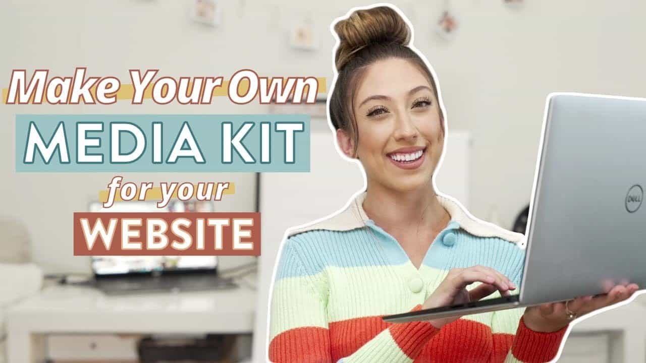 How To Create A Media Kit On Your Website For Brands   Step by step walkthrough tutorial using Zyro