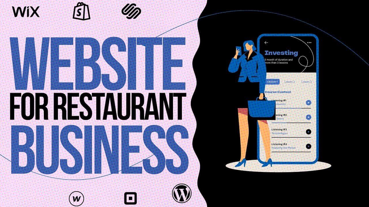 HOW TO MAKE A WEBSITE For Restaurant Business / WIX.COM Tutorial For Beginners