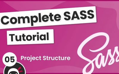 Do It Yourself – Tutorials – SASS Tutorial (build your own CSS library) #5 – Project Structure