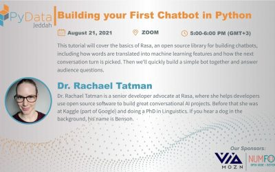 Do It Yourself – Tutorials – Building Your First Chatbot in Python || Rachael Tatman