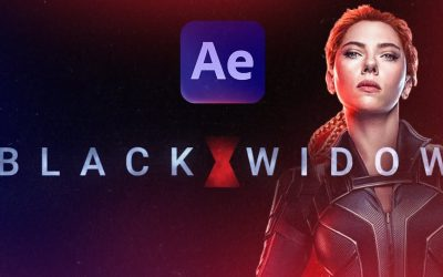 Do It Yourself – Tutorials – Create a Marvel Intro in 15 minutes? Black Widow After Effects Tutorial