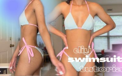 Do It Yourself – Tutorials – DIY: HOW TO MAKE YOUR OWN BIKINI SWIMSUIT! / Sewing Tutorial