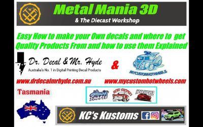 Do It Yourself – Tutorials – Easy Tutorial on how to make your Own Decals for your Projects & More EP #105 MA15+ Only