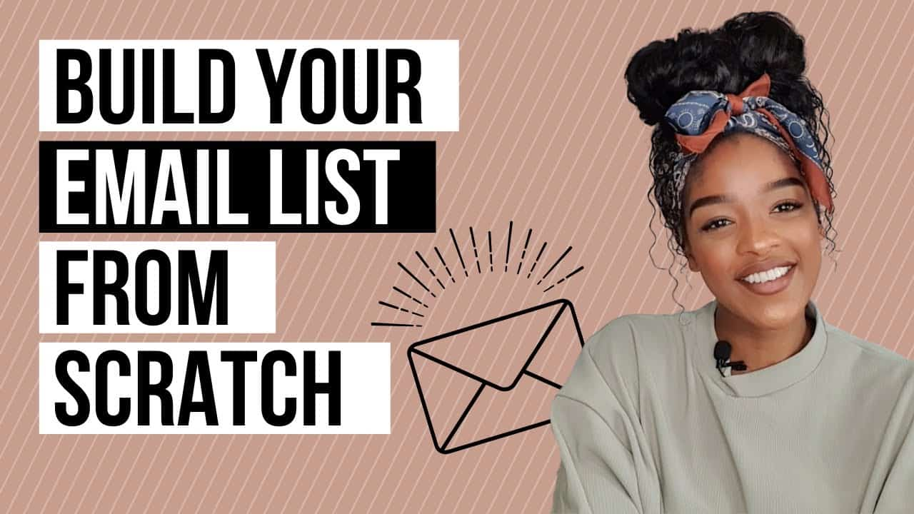HOW TO BUILD AN EMAIL LIST ON INSTAGRAM | How to build your email list Email list building tutorial