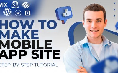 Do It Yourself – Tutorials – HOW TO BUILD Mobile App Website on WIX.COM? / Step By Step TUTORIAL For Beginners