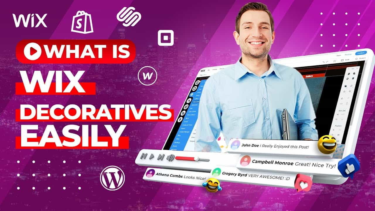 HOW TO MAKE Wix WEBSITE For Beginners? - Decoratives Tutorial Step By Step