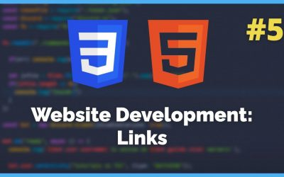 Do It Yourself – Tutorials – How to add links to your website – HTML/CSS Tutorial #5 (2021)