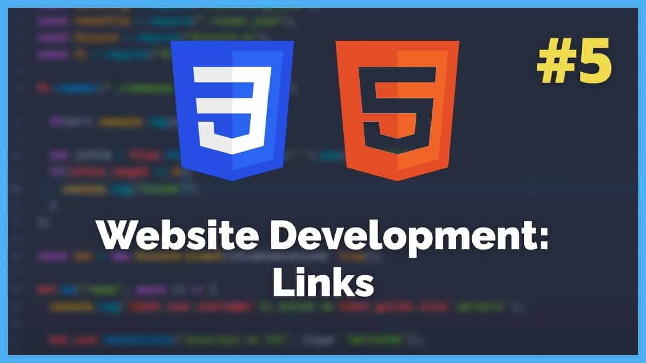 How to add links to your website - HTML/CSS Tutorial #5 (2021)