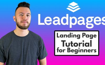 Do It Yourself – Tutorials – Leadpages – How to Create a Landing Page/Website! (Tutorial for Beginners)