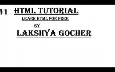 Do It Yourself – Tutorials – Learn HTML | HTML Tutorial | Make Your Own Web Page | Introduction | HTML Part # 1
